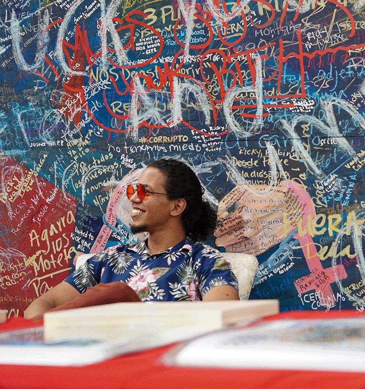 "¡WEPA! and Esmeralda's Cocktail Bar Jointly Host Reggaetoneros JBro Bugatti & Marce Unveil ""Diasporic Rican"" Mural"