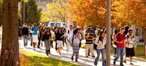 StudentsOutside